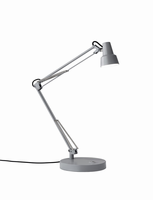 Adesso Quest LED Desk Lamp, Gray