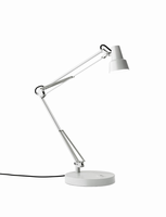 Adesso Quest LED Desk Lamp, White