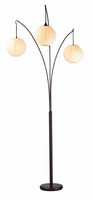 Adesso Sphere Arc Lamp-antique Bronze