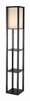 Adesso Titan Tall Shelf Floor Lamp
