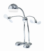 Adesso Wally LED Desk Lamp, Chrome