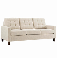 Alcove Sofa, Beige [FREE SHIPPING]