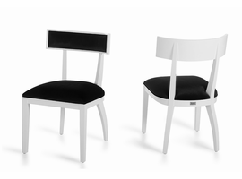 Alek - Modern White Dining Chair (Set of 2)