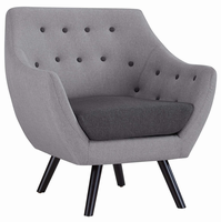 Allegory Armchair, Light Gray [FREE SHIPPING]