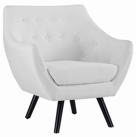 Allegory Armchair, White [FREE SHIPPING]