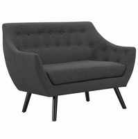 Allegory Loveseat, Gray [FREE SHIPPING]