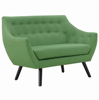 Allegory Loveseat, Green [FREE SHIPPING]