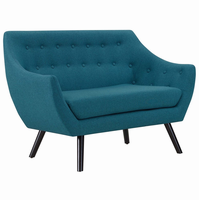 Allegory Loveseat, Teal [FREE SHIPPING]