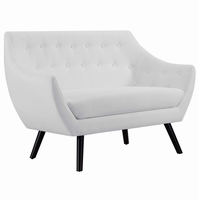 Allegory Loveseat, White [FREE SHIPPING]