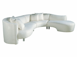 Allure - Sectional Fabric Sofa