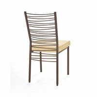 Amisco - 30123 - Crescent Chair (Upholstered Seat)