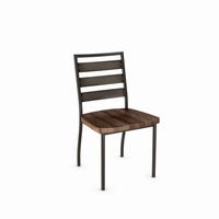 Amisco - 30124 - Tori Chair (Distressed Solid Wood Seat)