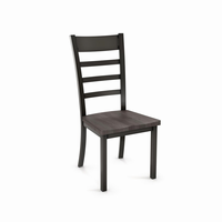 Amisco - 30154 - Owen Chair (Distressed Solid Wood Seat)