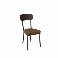 Amisco - 30568 - Bean Chair (Upholstered Seat And Metal Backrest)