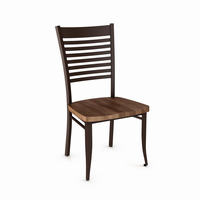 Amisco - 35198 - Edwin Chair (Distressed Solid Wood Seat)
