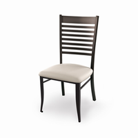 Amisco - 35198 - Edwin Chair (Upholstered Seat)