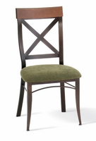 Amisco 35214 Kyle Chair with Wood Backrest