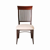 Amisco - 35219 - Annabelle Chair (Upholstered Seat And Solid Wood Accent)