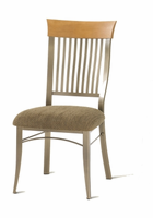 Amisco 35219 Annabelle Chair with Wood Backrest