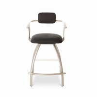Amisco Canadian - 40494 - Kris Swivel Stool Available in Many Colors