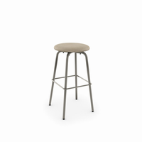 Amisco - 42460 - Button Swivel Stool (Upholstered Seat)