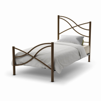 Amisco Nina Bed (With Versatile Mattress Support)