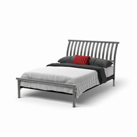 Amsico - 12169 - Newton Bed (with Non Versatile Mattress Support)