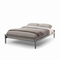 Amsico - 12340 - Uptown Bed (with Versatile Mattress Support)