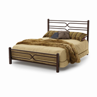 Amsico - 12374 - Timeless Bed (with Non Versatile Mattress Support)