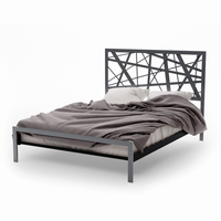 Amsico - 12381 - Attraction Bed (with Platform Footboard Mattress Support)