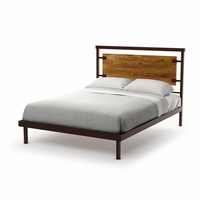 Amsico - 12389 - Factory Bed (with Platform Footboard Mattress Support)