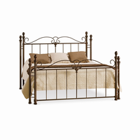 Amsico - 12757 - Natasha Bed (with Non Versatile Mattress Support)