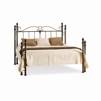 Amsico - 12767 - Natasha Bed (with Non Versatile Mattress Support)