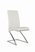 Angora - Modern White Dining Chair (Set of 2)