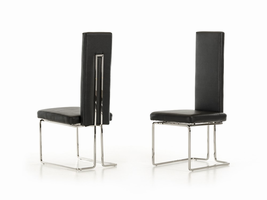 Arcadia - Modern Black Dining Chair (Set of 2)