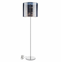 Arena Floor Lamp, Silver [FREE SHIPPING]