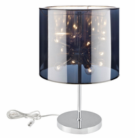 Arena Table Lamp, Silver [FREE SHIPPING]