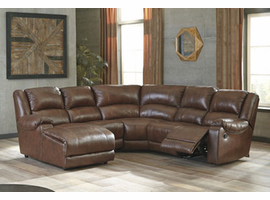 Ashley Furniture Armless Recliner, Canyon