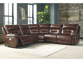 Ashley Furniture Armless Recliner, Sienna