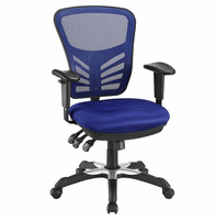 Articulate Mesh Office Chair, Blue [FREE SHIPPING]