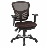 Articulate Mesh Office Chair, Brown [FREE SHIPPING]