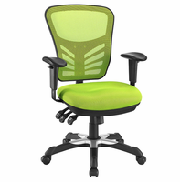 Articulate Mesh Office Chair, Green [FREE SHIPPING]
