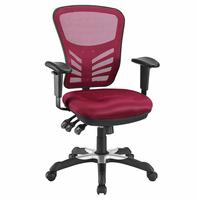 Articulate Mesh Office Chair, Red [FREE SHIPPING]
