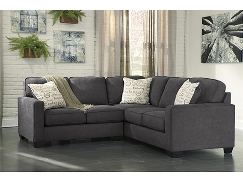 sectional sofas for studios ashley 16601 55 67 alenya 2 piece sectional sofa with left arm