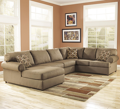 Ashley 30703-16-34-67 Cowan 3-piece Sectional Sofa with Left Arm Chaise : 3 piece sectional sofa with chaise - Sectionals, Sofas & Couches