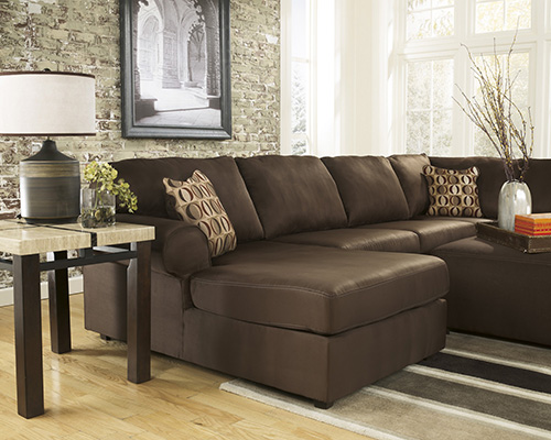 ashley cowan 3piece sectional sofa with left arm chaise