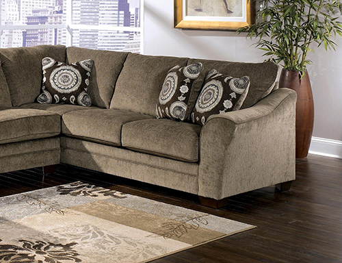 ashley cosmo 3piece sectional sofa with left arm chaise - 3 Piece Sectional Sofa