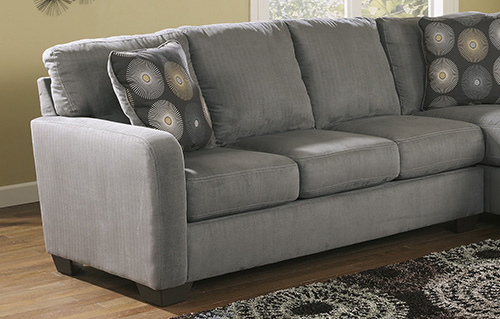 Ashley 70200-66-17 Zella Sectional Sofa with Right Arm Chaise : zella sectional - Sectionals, Sofas & Couches