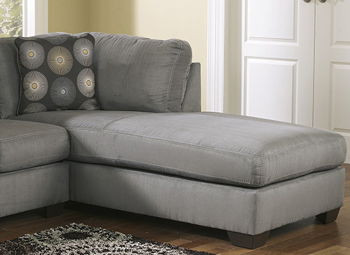 Ashley 70200 66 17 zella sectional sofa with right arm chaise for Ashley sofa with chaise