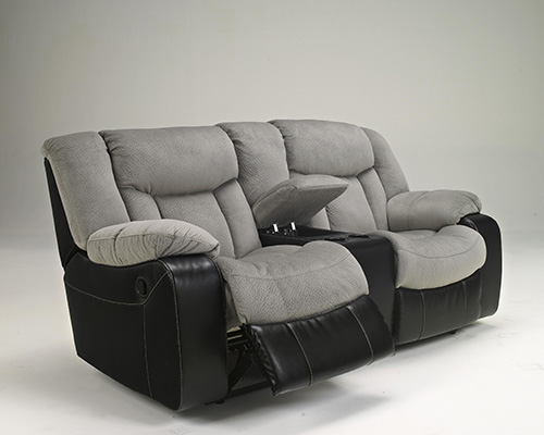 Ashley 79205 94 Tafton Double Reclining Loveseat With Console
